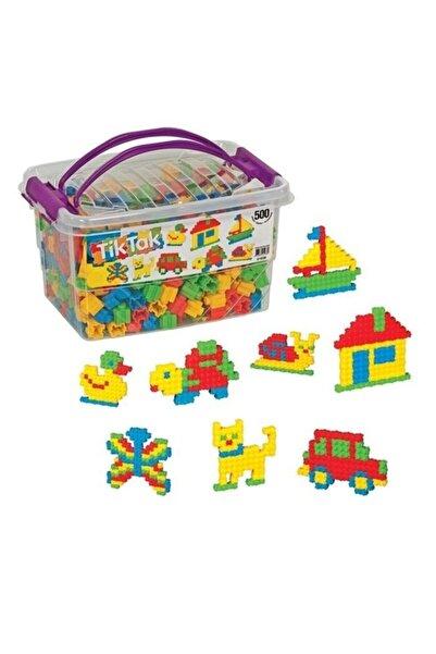DEDE Tik Tak Box 500 Parça Lego Set
