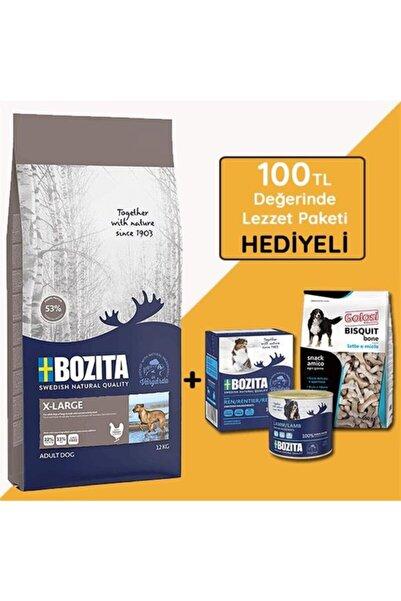 Bozita Naturals X Large Büyük Irk Tavuklu Yetişkin Köpek Maması 12 Kg (hediyeli)