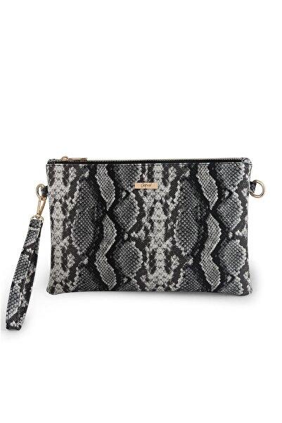 Coquet Accessories Kadın Siyah Pearly Clutch Çanta-19g3u13n001
