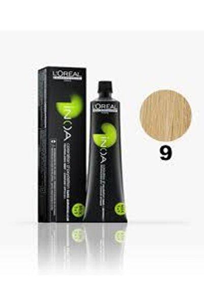İNOA 9 Numara Sarı Saç Boyası 60 Ml (oksidansız)