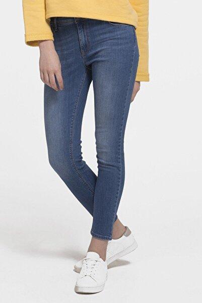 Loft Kadın Mavi Renkli Skinny Fit Kot Pantolon