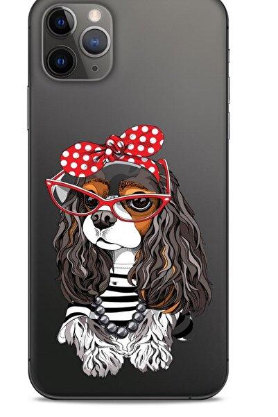 Lopard Zoologix (12) Apple Iphone 12 Pro Max Şeffaf Kılıf Silikon Desenli