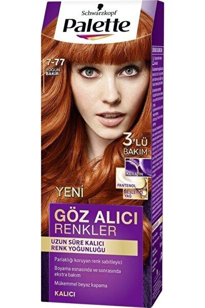 Palette Yoğun Göz Alıcı Renkler Saç Boyası 7.77 Yoğun Bakır