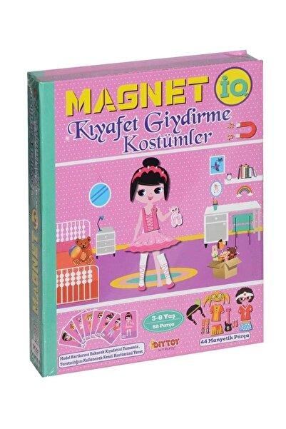 DIYTOY Manyetik Magnet Kıyafet Giydirme Kostümler