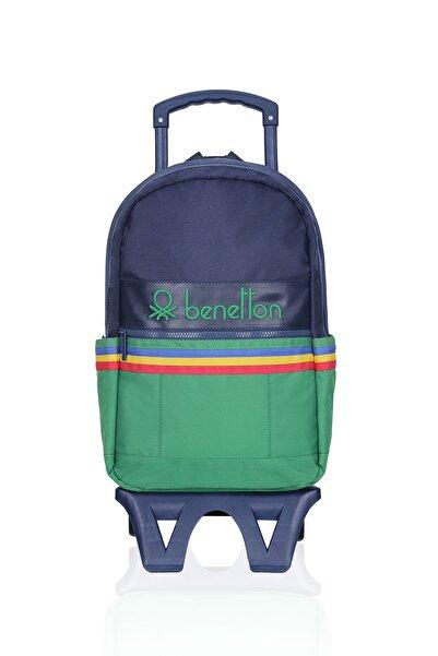 Benetton United Colors Of Çekçekli Okul Çantası 70039