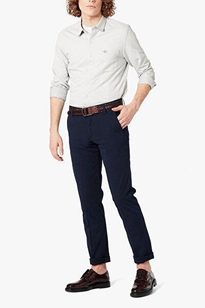 Dockers Erkek Smart 360 Flex Workday Khaki Pantolon, Slim Fit 3627200050