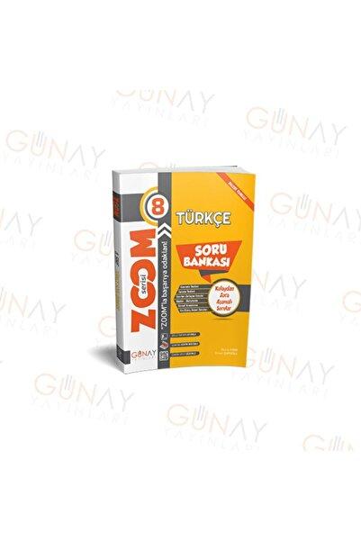 Günay Yayıncılık 8.sınıf Zoom Serisi Türkçe Soru Bankası Günay Yayınları