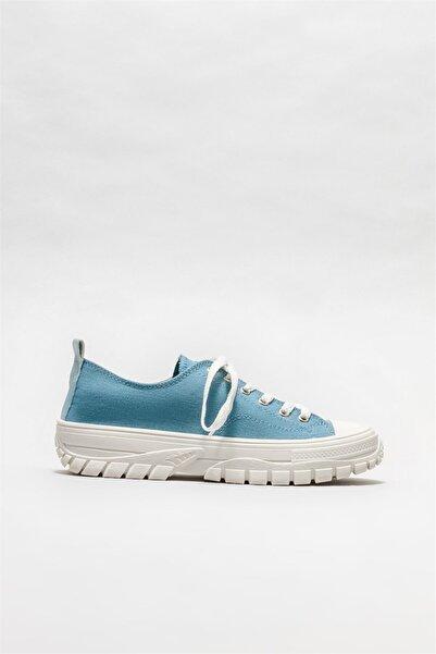 Elle Shoes Kadın Mavi Spor Ayakkabı