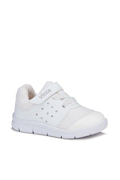 Vicco Mario Unisex Bebe Beyaz Spor Ayakkabı
