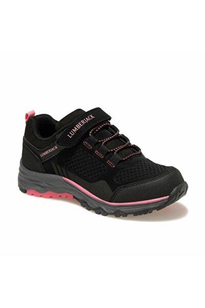 lumberjack Kız Çocuk Siyah Outdoor Ayakkabı Suya Dayanıklı Kışlık Ayakkabı