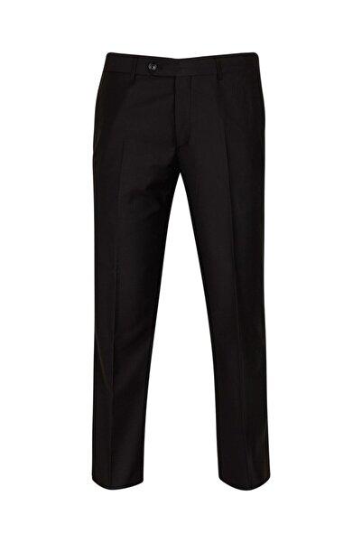 SÜVARİ Slim Fit Siyah Erkek Kumaş Pantolon