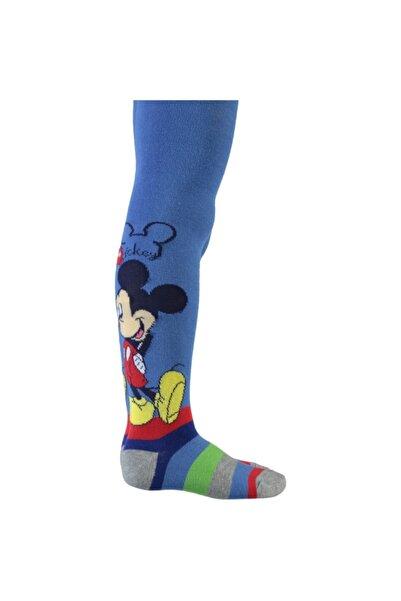 Mickey Mouse Mıckey Mouse Mavi Külotlu Çorap