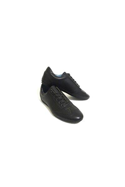 Erdem Siyah Ve Taba Renk Seçenekli Bağcıklı Hakiki Deri Erkek Günlük Casual Ayakkabı