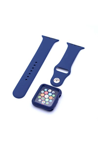 DIJIFABA Apple Watch 44mm Zore 3 In 1 Klasik Kordon