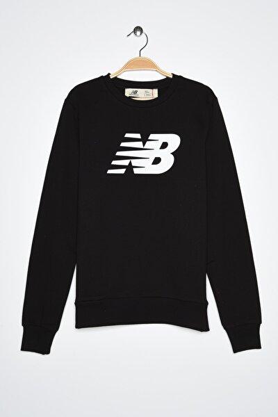 New Balance Kadın Spor Sweatshirt - CREW NECK  - WTC0303-BK