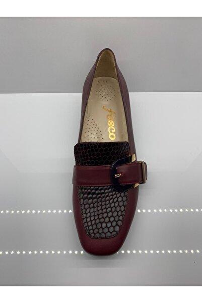Fosco Kadın Bordo Ayakkabı
