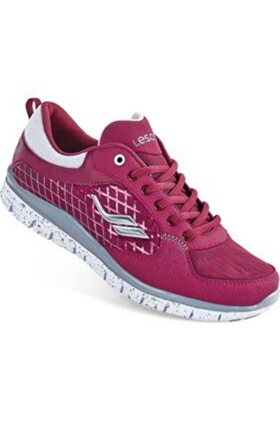 Lescon Kadın Bögürtlen Rengi Yürüyüş Ayakkabısı