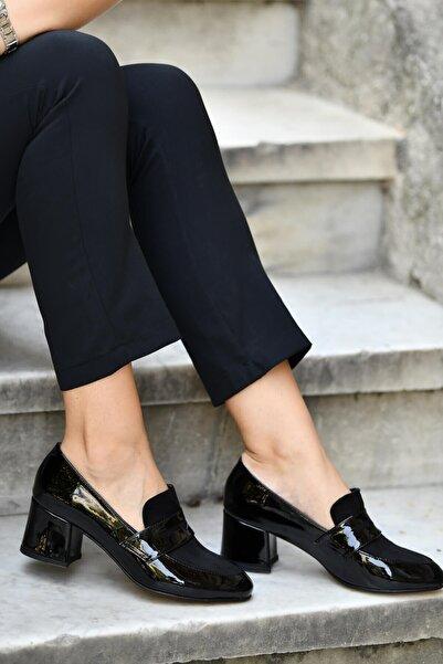 Mio Gusto Brenda Siyah Topuklu Ayakkabı