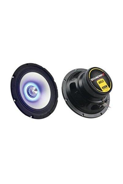 Soundmax Mavi Tekli 20 cm Led Midrange Speaker 400w Sx-m8ld