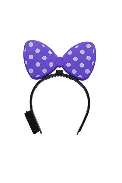 Mickey Mouse Mor Işıklı Taç
