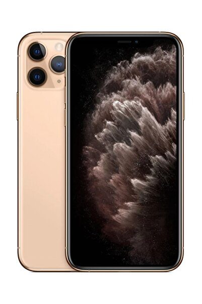 Apple iPhone 11 Pro Gold 512GB (Apple Türkiye Garantili) Aksesuarlı Kutu