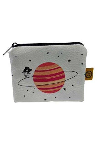 Royal Aksesuar Satürn & Kız Bozuk Para Cüzdanı