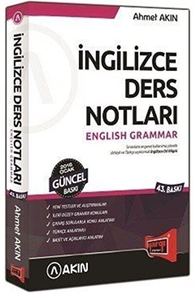 Akın Dil Eğitimi Ingilizce Ders Notları