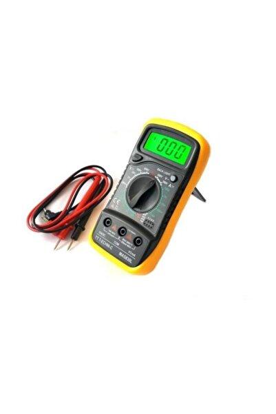 UZYELK Dijital Ölçü Aleti Multimetre Avometre Ölçüm Cihazı Mas830