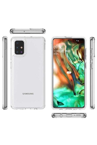 Zipax Samsung Galaxy A71 Kılıf Coss Kapak