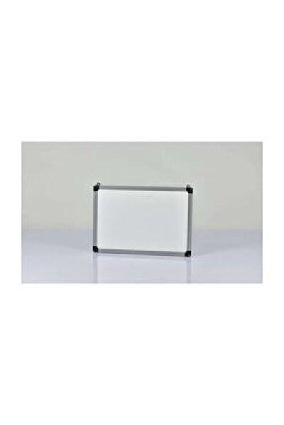 Yazı Tahtası Beyaz  Duvar Askı Aparatlı  Pvc Çerçeve 40x55 cm