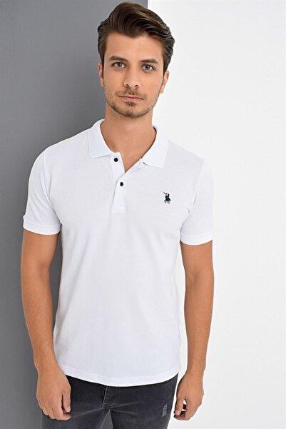 Dewberry Erkek Beyaz T-Shirt - 2090001T8561