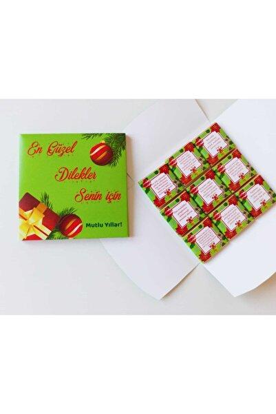 Fenix Dukkan Mutlu Yıllar 9'lu Sütlü Çikolata Kutusu