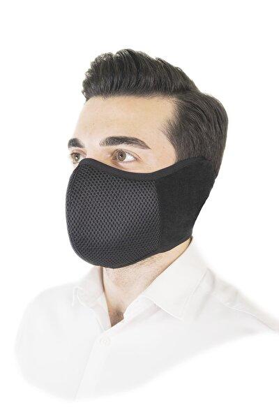 HOTMASK Erkek Siyah Yıkanabilir Kış Maskesi