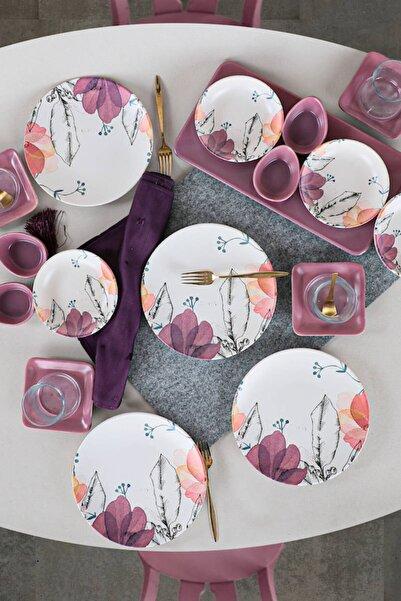 Keramika Lilia Kahvaltı Takımı 21 Parça 4 Kişilik - 19176