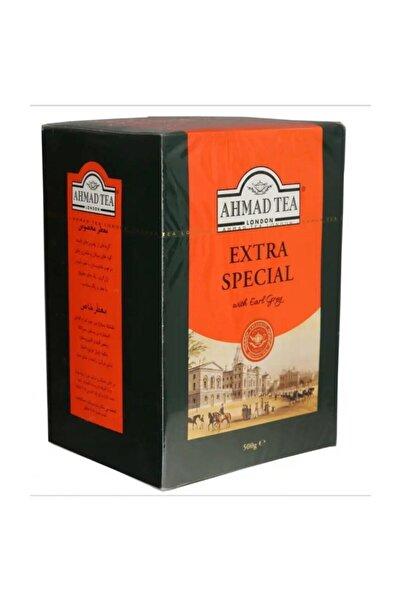 Ahmad Tea Extra Special 500 Gr. Siyah Seylan Çayı. Hafif Earl Grey Aromalı Seylan Çayı