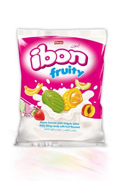 Elvan Ibon Sütlü Meyveli Şeker 1000 Gr. (1 Poşet)