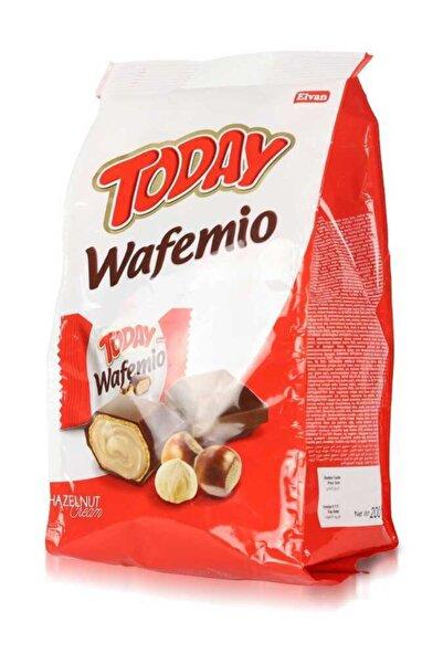 Elvan Today Wafemio Kakao Kaplı Fındıklı Gofret 200 gr. (1 Poşet)