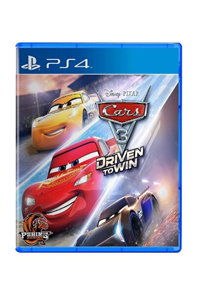 Warner Bros Cars 3: Driven To Win Ps4 Oyun