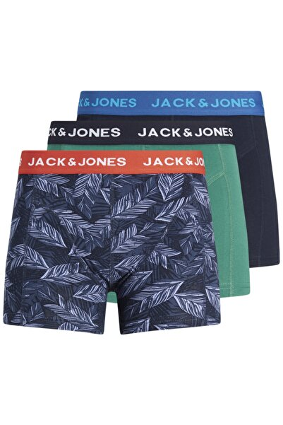 Jack & Jones 3'lü Boxer 12192802 Jacblue