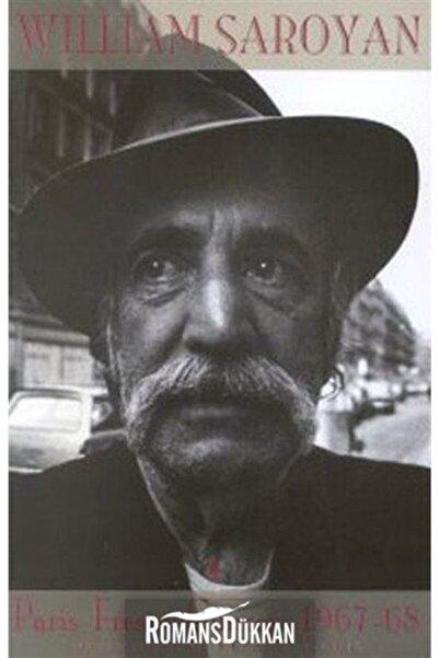 Aras Yayıncılık Paris-fresno Güncesi 1967-68 Ölüm Dirim Ve Aya Kaçış