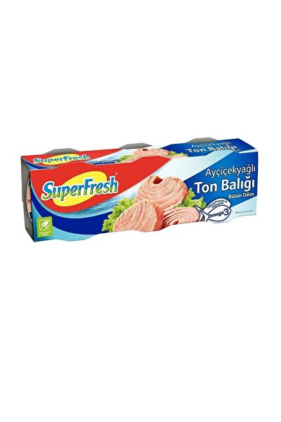 SuperFresh Super Fresh Klasik Ton Balığı 3*80 Gr