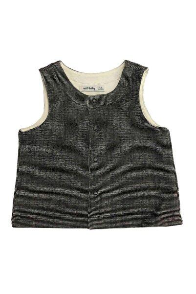 İDİL BABY Erkek Bebek Siyah Yelek 14230