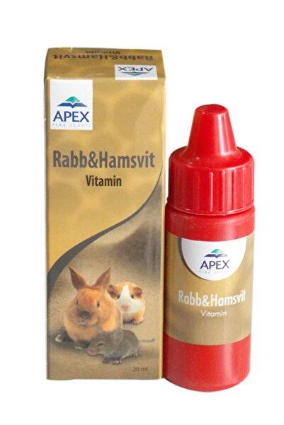 Apex Hamster Vitamini Rabb Hamsvit