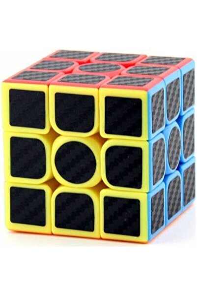 Nuvotoys Toys E Toys 3x3 Karbon Fiber Rubik Küp