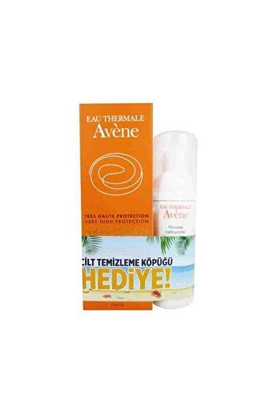 Avene Anti Aging Suncare Spf50 50 Ml Set ( Yaşlanma Karşıtı Güneş Kremi Ve Cilt Temizleme Köpüğü Set