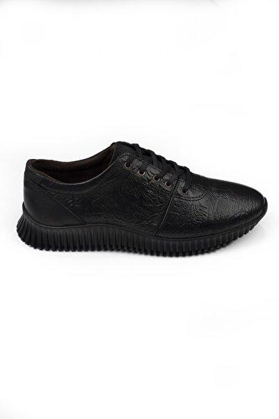 DeepSEA Siyah Bağcıklı Erkek Deri Ayakkabı 2104484