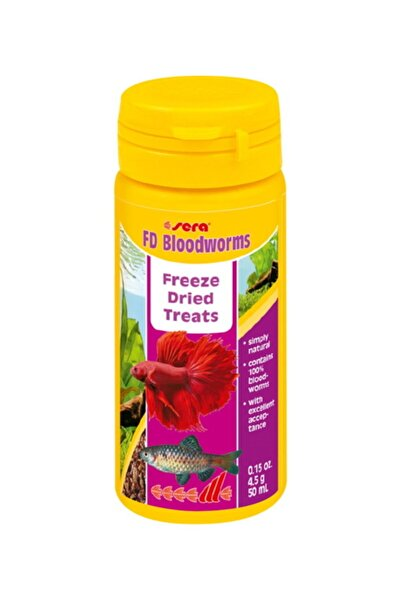 SERA Fd Bloodworms(kan Kurdu) 50 Ml 4,5 Gr