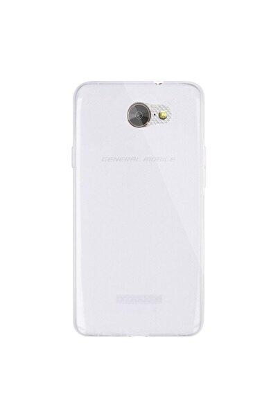 Subzero General Mobile Gm6 Şeffaf Ince Esnek Silikon Kılıf