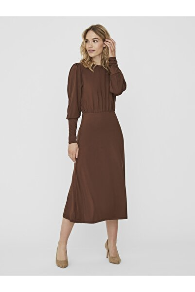 Vero Moda Sırt Dekolteli Uzun Elbise 10239756 Vmnext