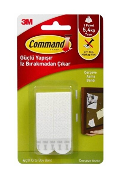 COMMAND 17201 Orta Boy Cırt Cırt Bant